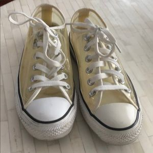 Converse All ⭐️ Stars CLEAR sneakers M5 W7